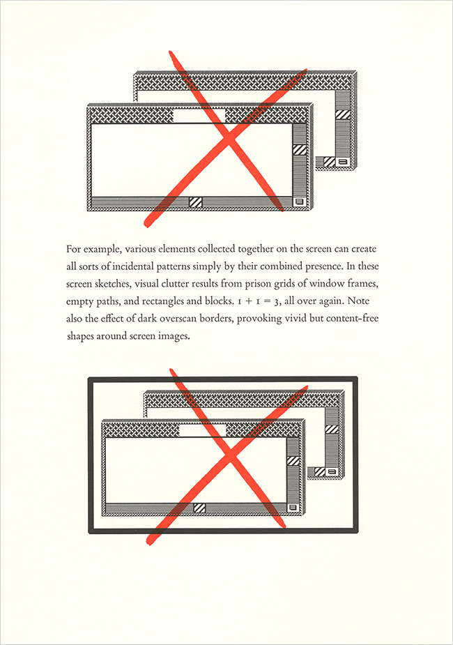 Edward Tufte Visual Design User Interface booklet