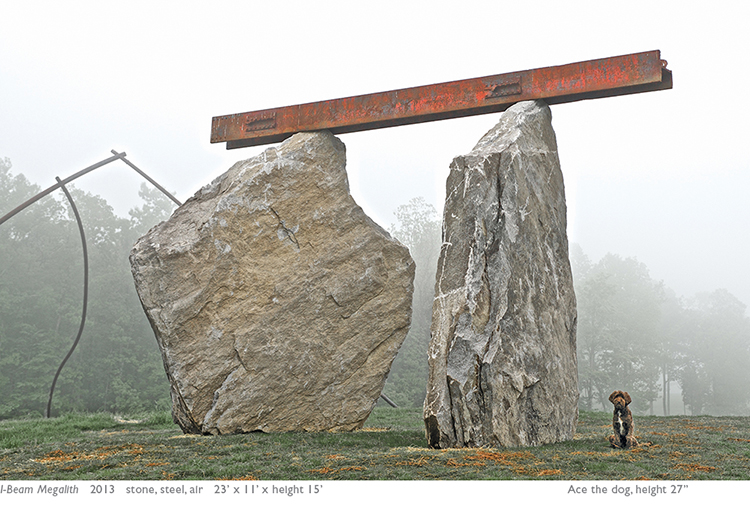 Megaliths, Edward Tufte, Hogpen Hill Farms, open house
